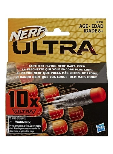 Hasbro Nerf Ultra Dart 10lu Yedek Paket E7958 Renkli